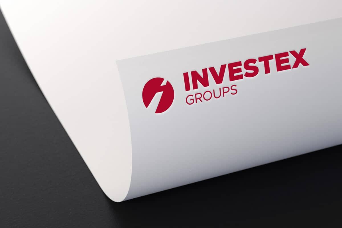 Grafický dizajn hlavičkového papiera pre Investex Groups