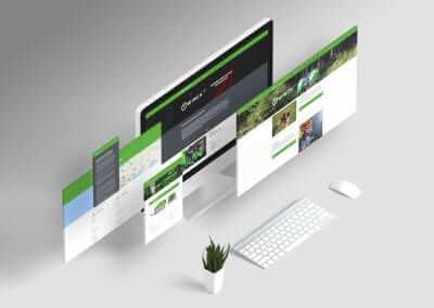 Webstránka ecoforst.at