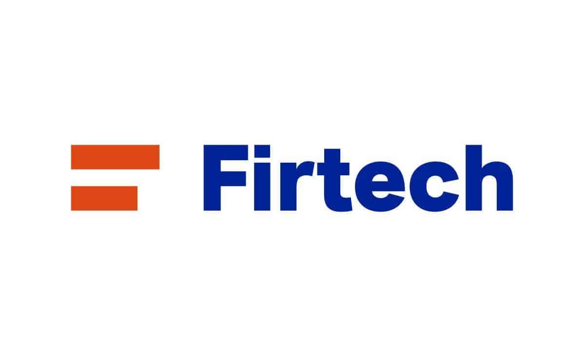 Logotyp Firtech v plnofarebnej verzii