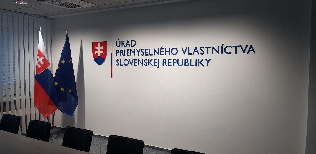 Priestorový logotyp Úrad priemyselného vlastníctva Slovenskej republiky 5