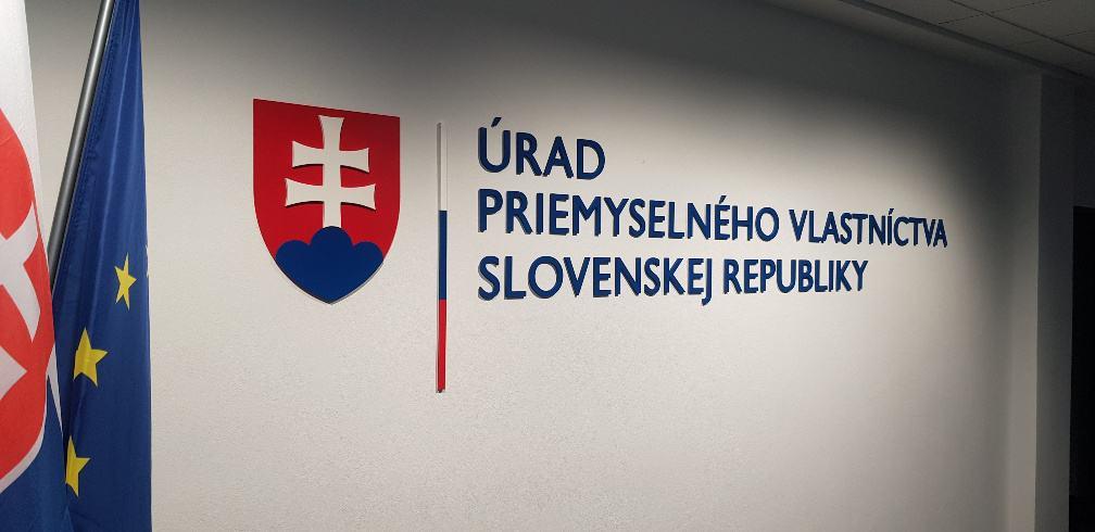 Priestorový logotyp Úrad priemyselného vlastníctva Slovenskej republiky 3