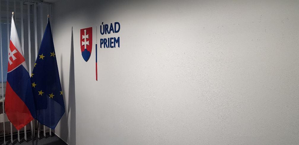 Priestorový logotyp Úrad priemyselného vlastníctva Slovenskej republiky 2
