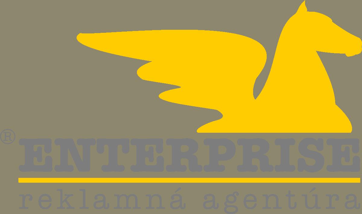 Pôvodný logotyp spoločnosti ENTERPRISE