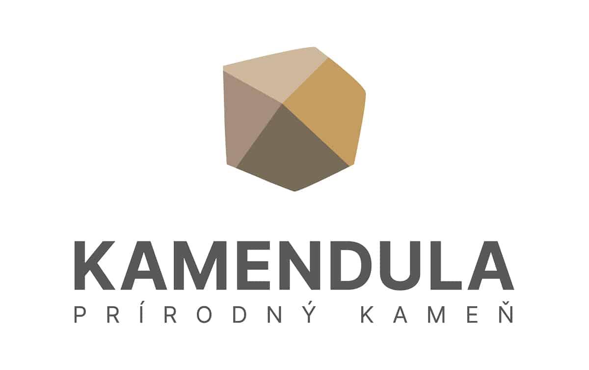 Logotyp KAMENDULA - plnofarebná verzia