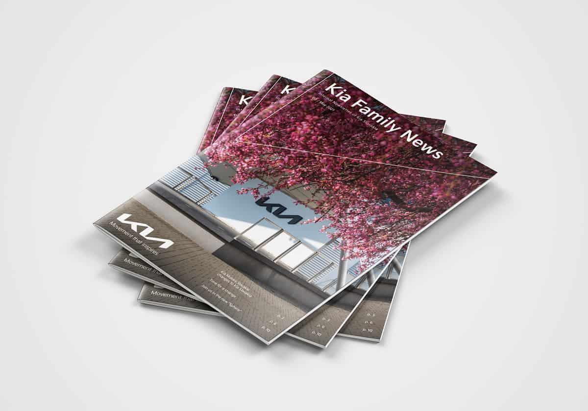 Reálne výtlačky časopisu