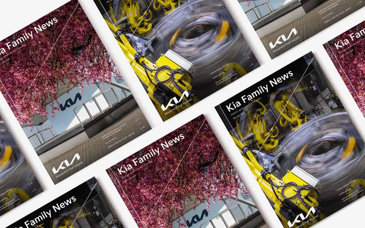 Kolekcia časopisov 2021 s novým dizajnom obálky